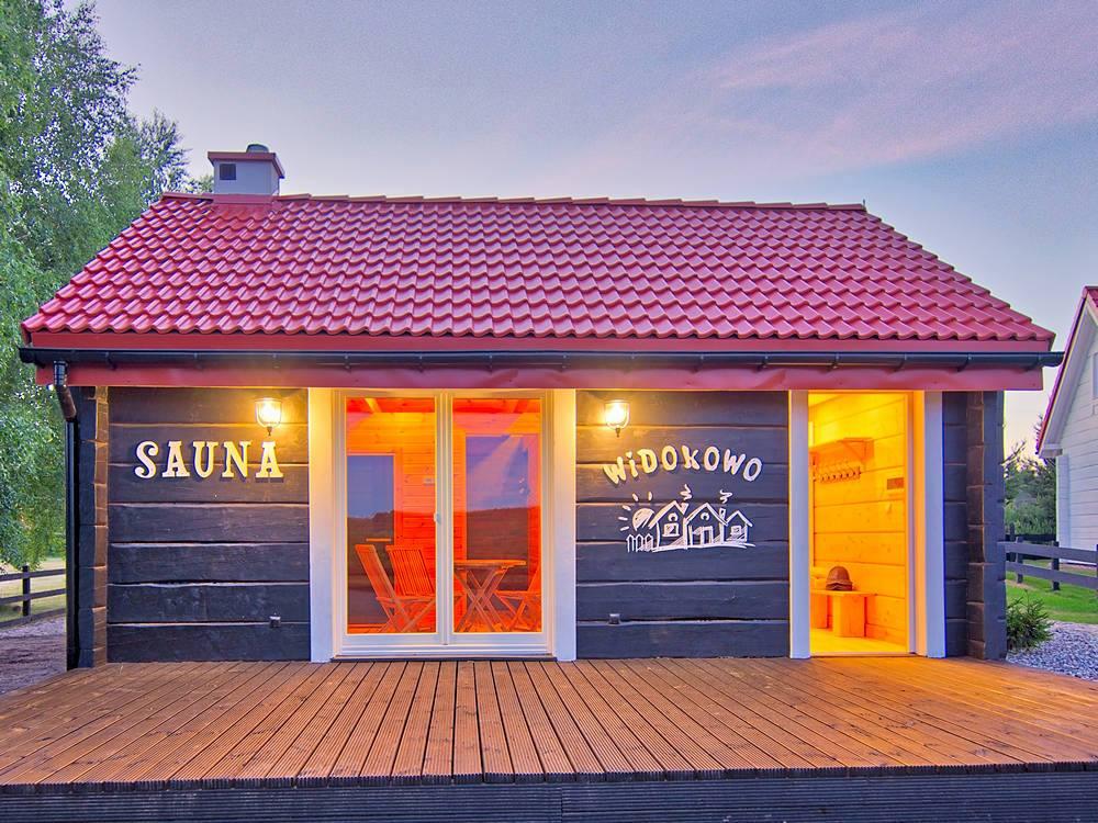 sauna widokowo miejsce na wakacje z klimatem