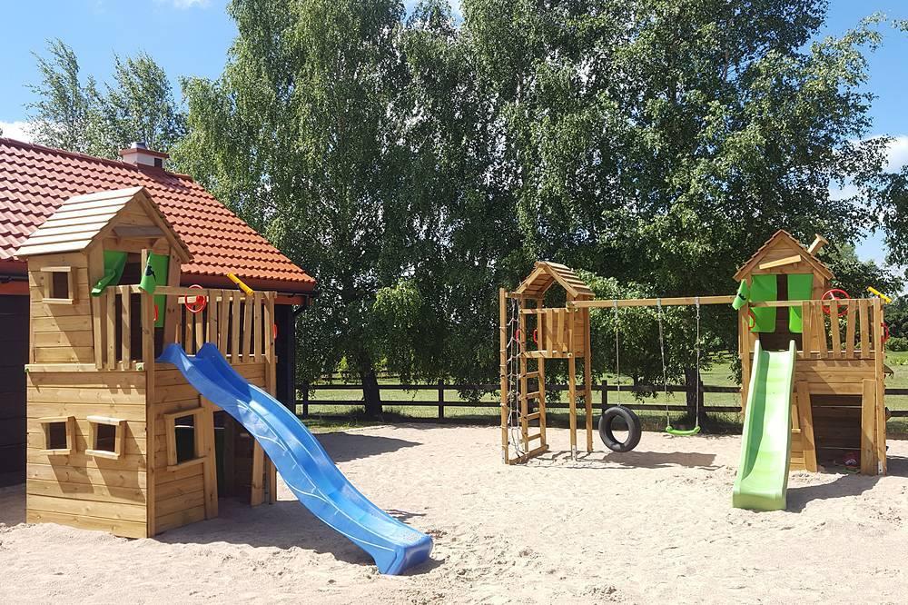 plac zabaw dla dzieci widokowo
