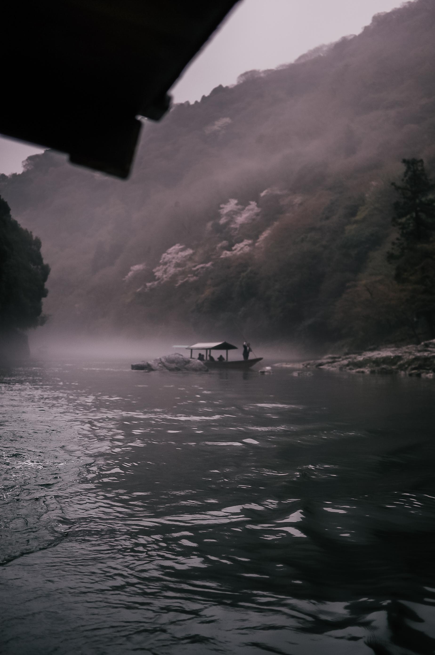 Dopływ do Hoshinoya Kyoto 2
