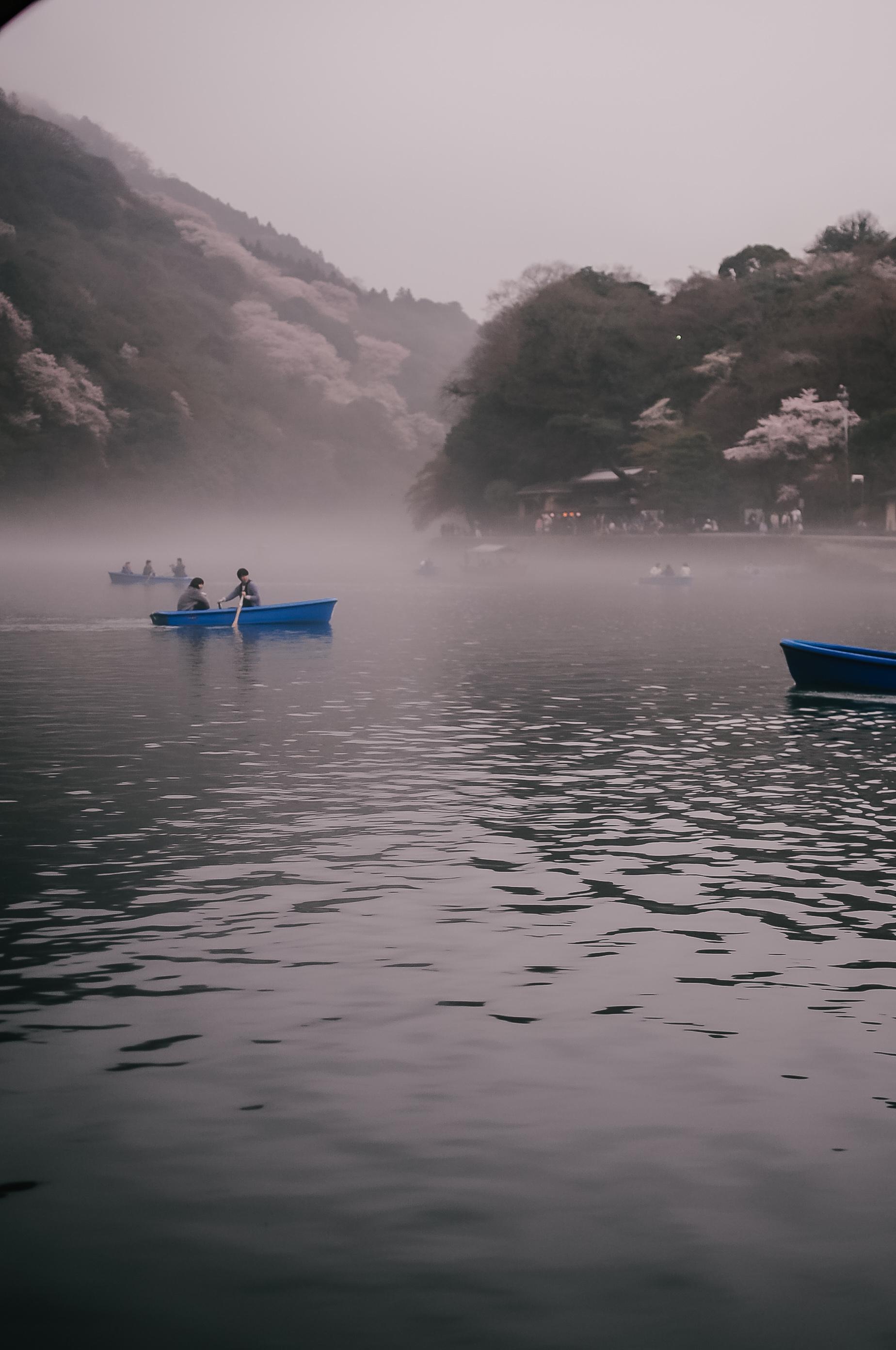 Dopływ do Hoshinoya Kyoto