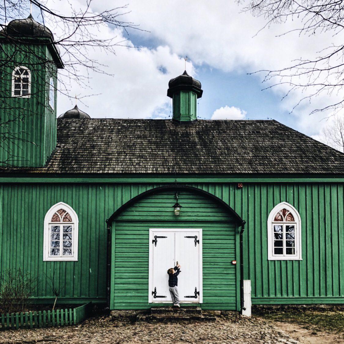 Meczet w Kruszynianach Podlasie