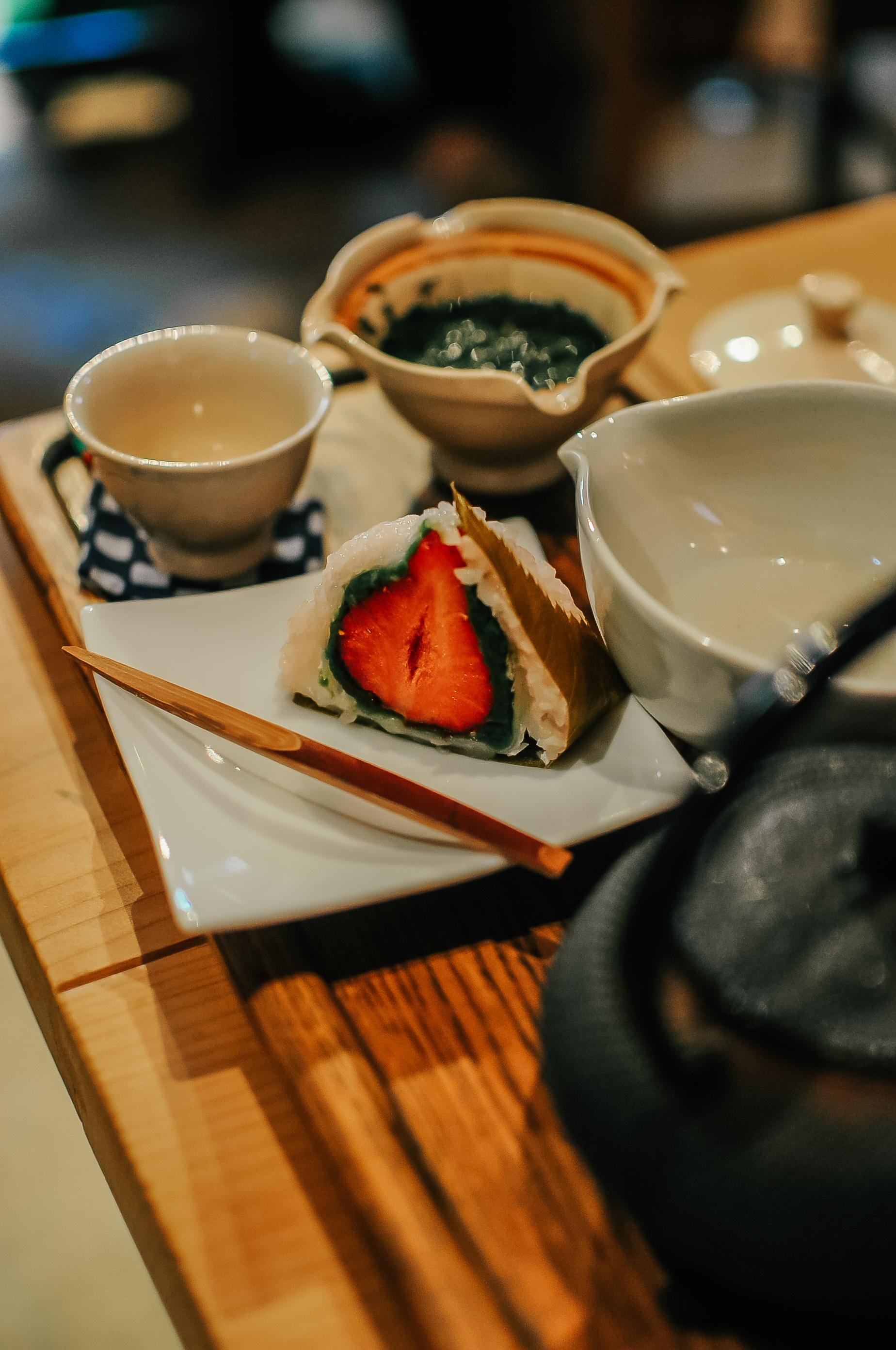 Zielona herbata w Uji