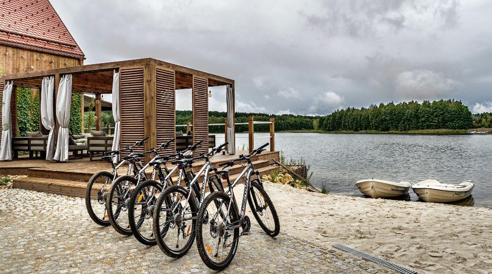 rowery przystan wygonin